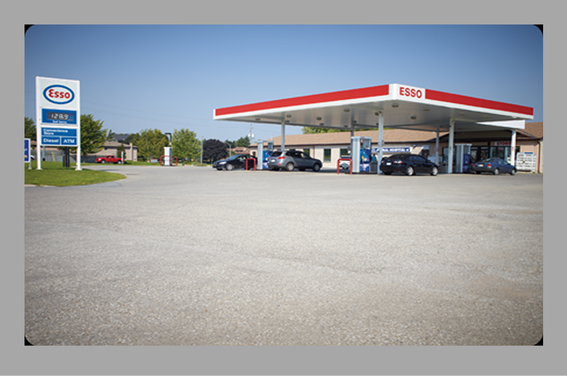 Esso Gas Station with Approved LCBO