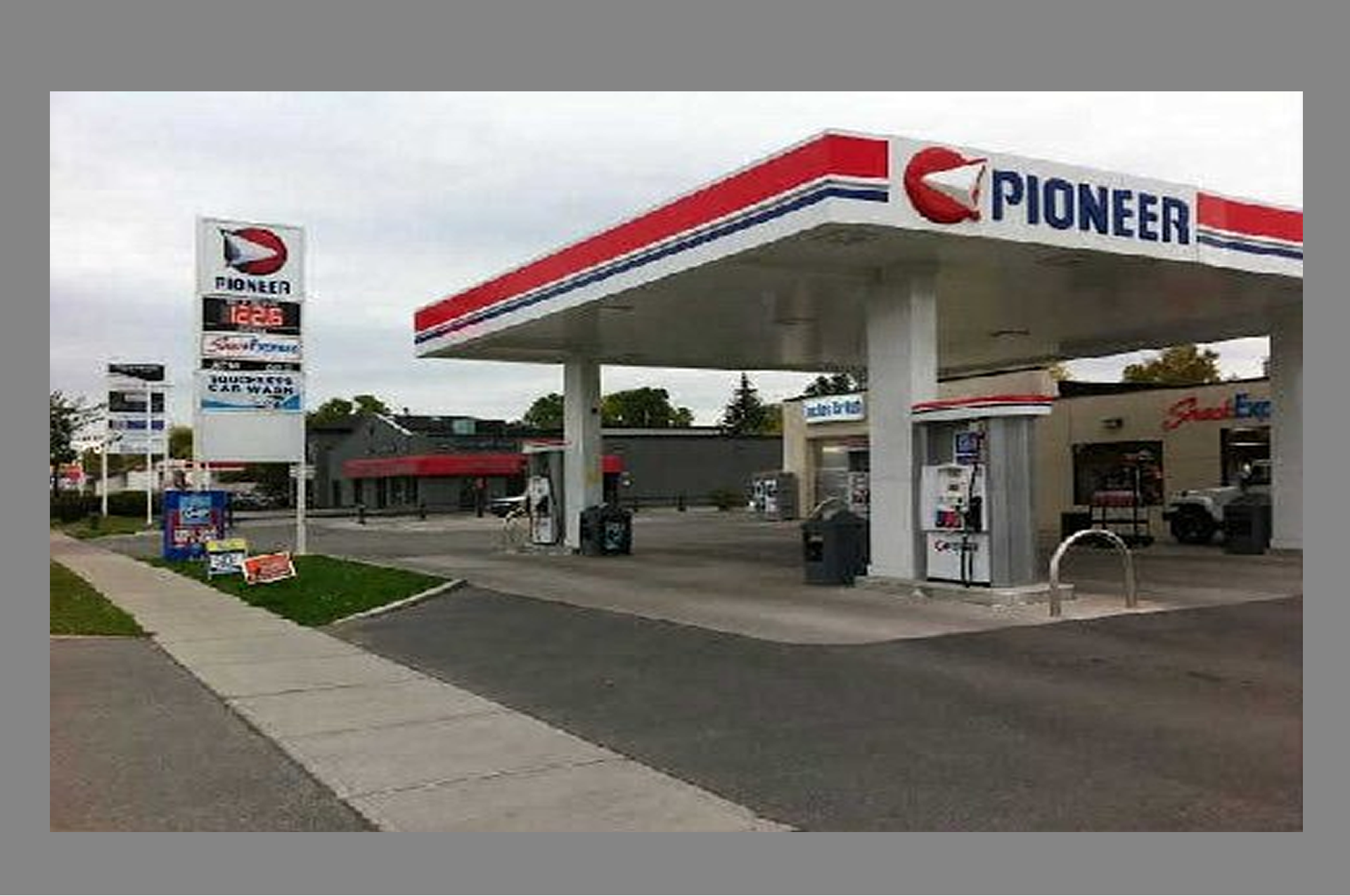 Pioneer Gas Station For Sale